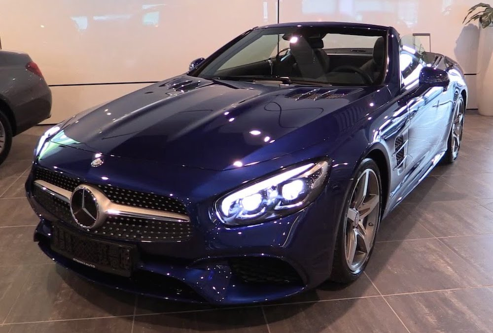 Sights And Sounds 2017 Mercedes Sl 400