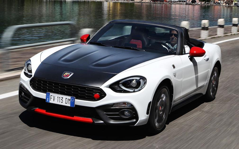 Abarth 124 Spider Priced From 163 29 565 In The Uk