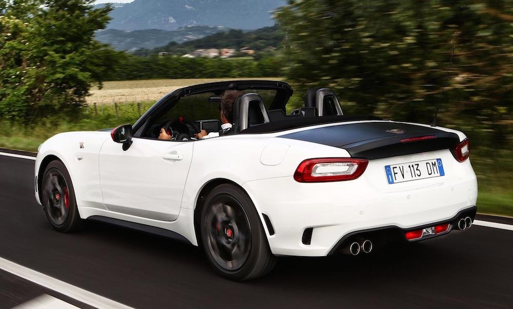 abarth 124 spider priced from 29 565 in the uk. Black Bedroom Furniture Sets. Home Design Ideas