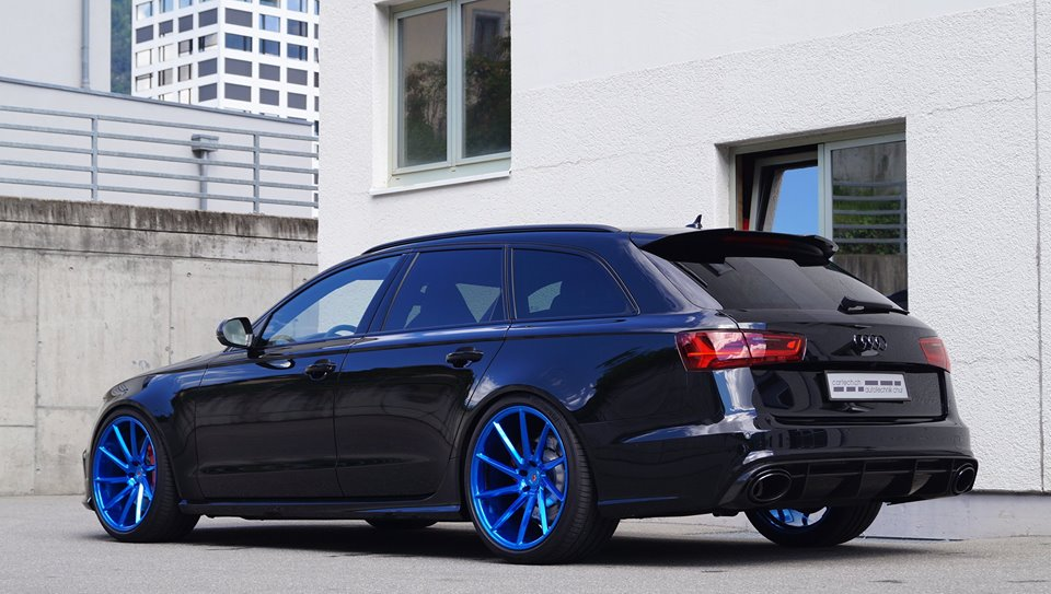 blue wheeled audi rs6 yay or nay. Black Bedroom Furniture Sets. Home Design Ideas