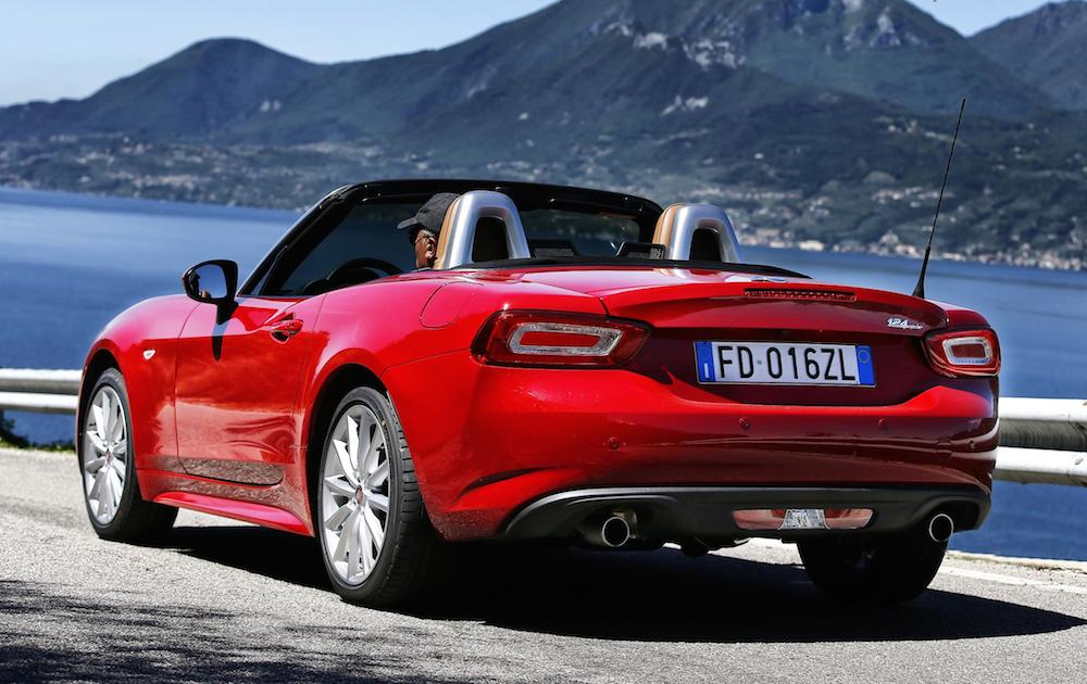 fiat 124 spider uk pricing announced. Black Bedroom Furniture Sets. Home Design Ideas