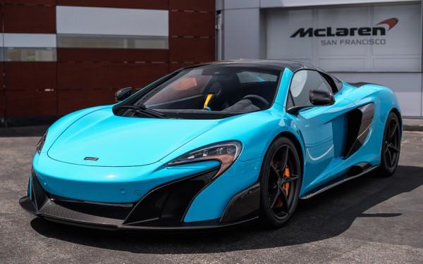 Gallery: Fistral Blue McLaren 675LT Spider