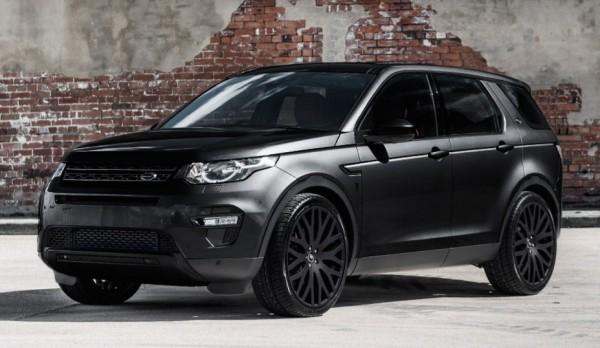 Kahn Land Rover Discovery Black-0