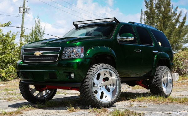 Kandy Green Chevrolet Tahoe-0