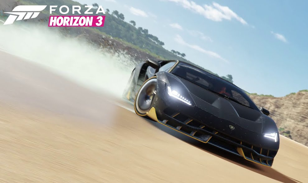Awesome Forza Horizon 3 Trailer Reveals Lamborghini Centenario