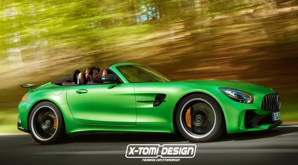 mercedes amg gt r roadster is what we want for christmas. Black Bedroom Furniture Sets. Home Design Ideas