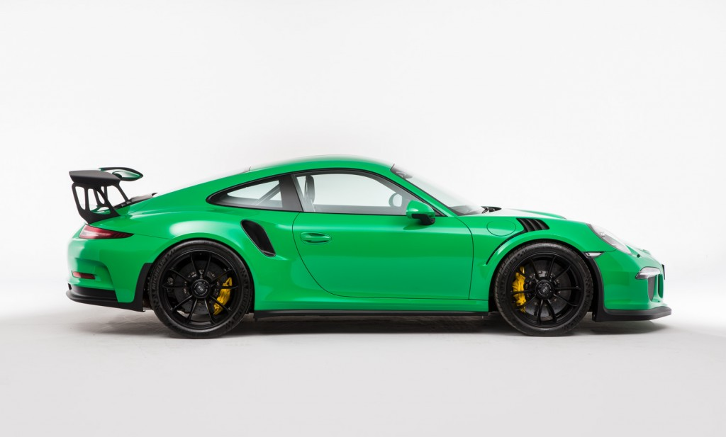 Rs Green Porsche 991 Gt3 Rs Spotted For Sale