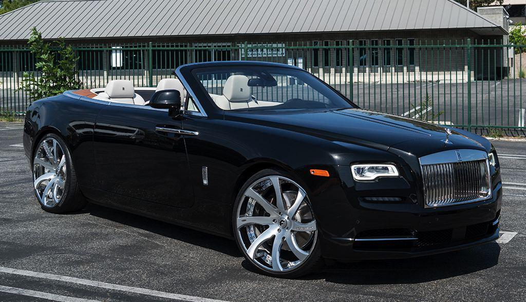 Spotlight First Rolls Royce Dawn On Forgiato Wheels