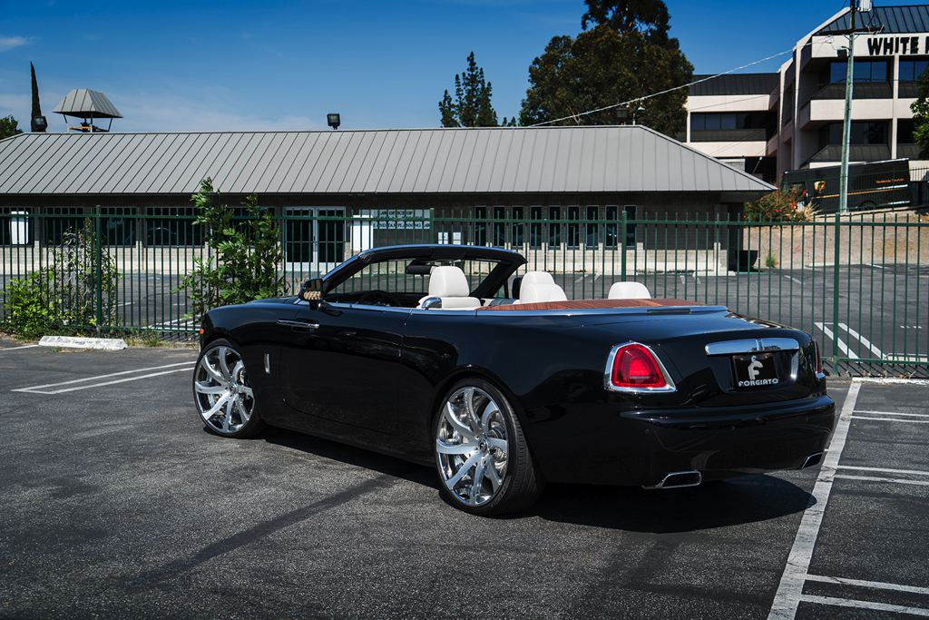 spotlight first rolls royce dawn on forgiato wheels. Black Bedroom Furniture Sets. Home Design Ideas