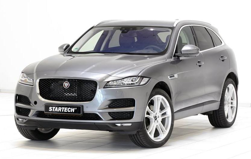 Startech Jaguar F Pace Kicks Things Off With Wheels