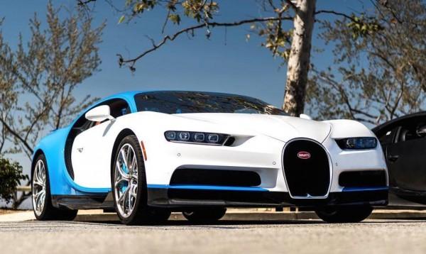 4x Bugatti Chiron