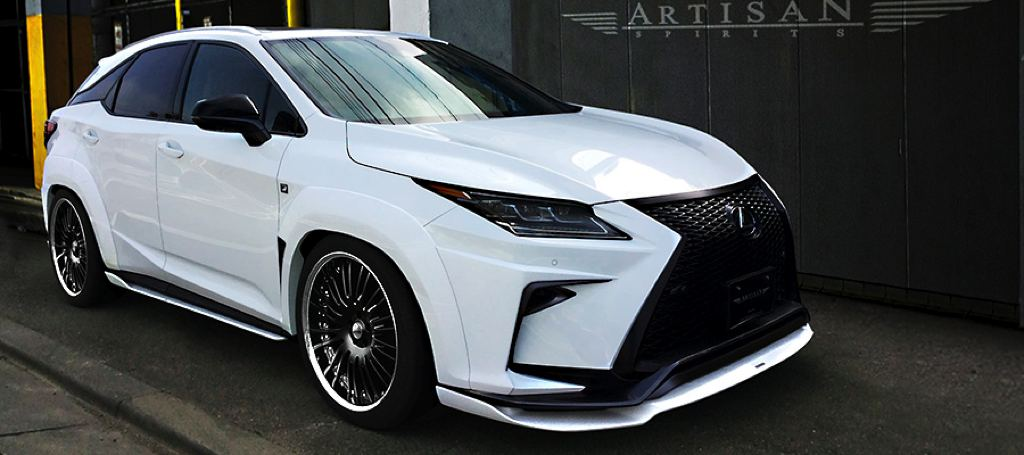 Spotlight: Artisan Lexus RX Wide Body