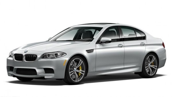 BMW M5 Pure Metal Silver 1 600x339 at BMW M5 Pure Metal Silver Limited Edition for U.S.