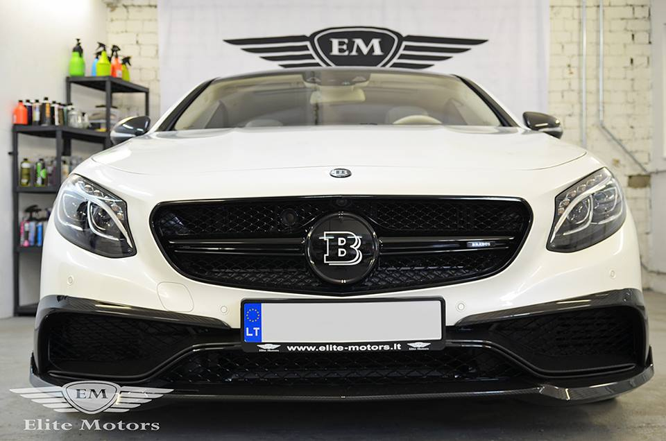 brabus mercedes s63 coupe by elite motors. Black Bedroom Furniture Sets. Home Design Ideas
