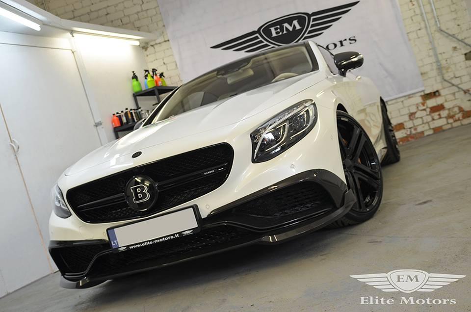Elite Motor Cars: Brabus Mercedes S63 Coupe By Elite Motors