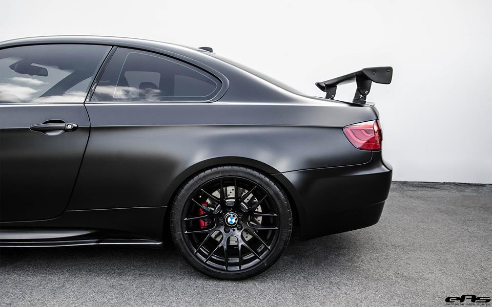 Frozen Black Bmw M3 E92 By Eas