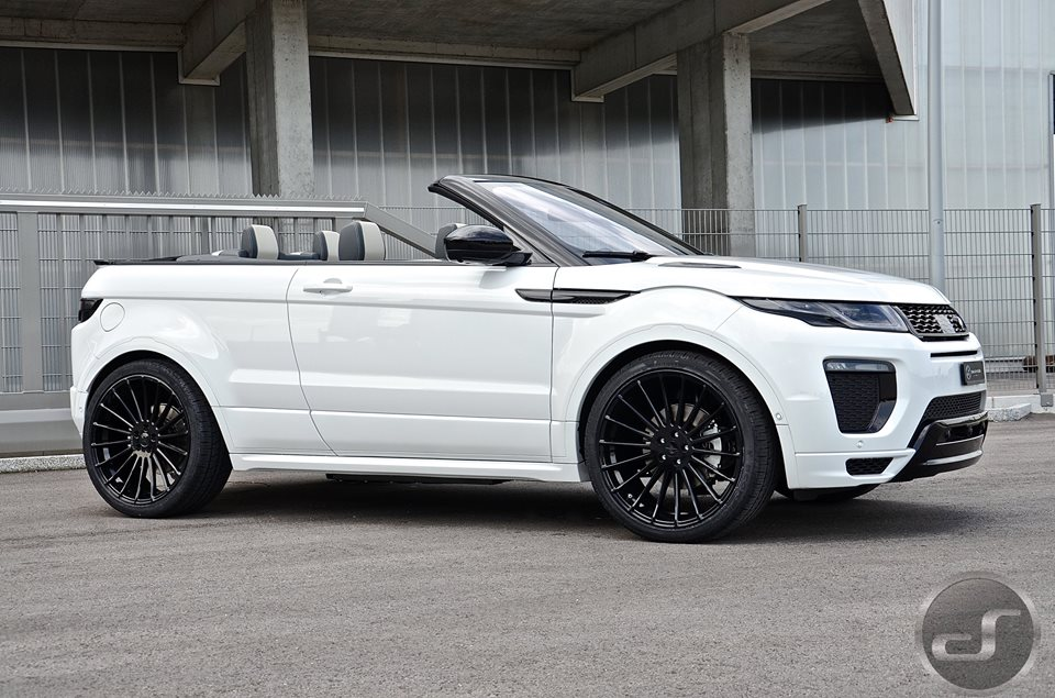 ds builds the first hamann range rover evoque cabrio. Black Bedroom Furniture Sets. Home Design Ideas