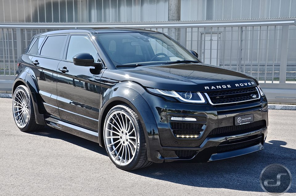 Spotlight Hamann Range Rover Evoque Wide Body