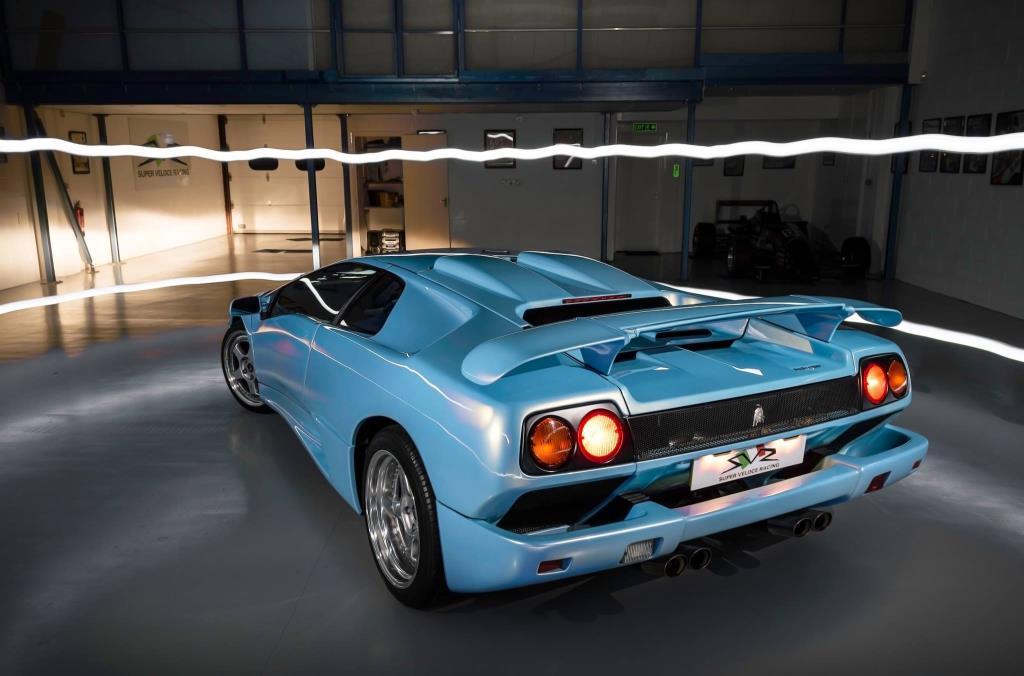 Ice Blue Lamborghini Diablo Sv On Sale For 163 265k