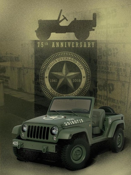 Jeep Wrangler 75th Salute 2 450x600 at Jeep Wrangler 75th Salute Edition Is Another WWII Tribute