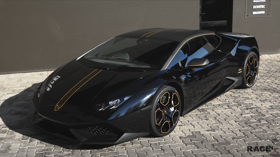custom lamborghini huracan by race. Black Bedroom Furniture Sets. Home Design Ideas