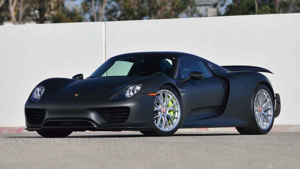 Up For Grabs Matte Black Porsche 918