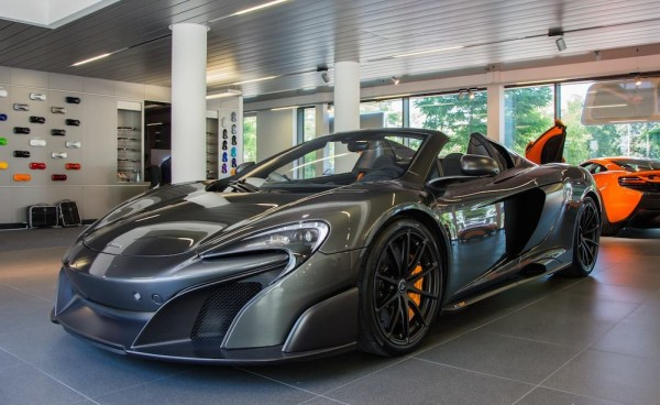 more mclaren 675lt spider goodness from munich. Black Bedroom Furniture Sets. Home Design Ideas