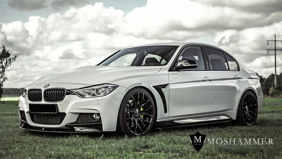 moshammer bmw 3 series f30 body kit. Black Bedroom Furniture Sets. Home Design Ideas