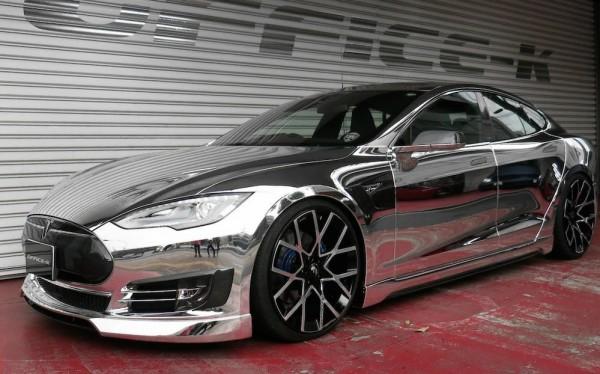 Office-K Tesla Model S-Chrome-0