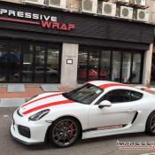 Porsche Cayman GT4 911R 1 175x175 at This Porsche Cayman GT4 Wants to Be a 911 R