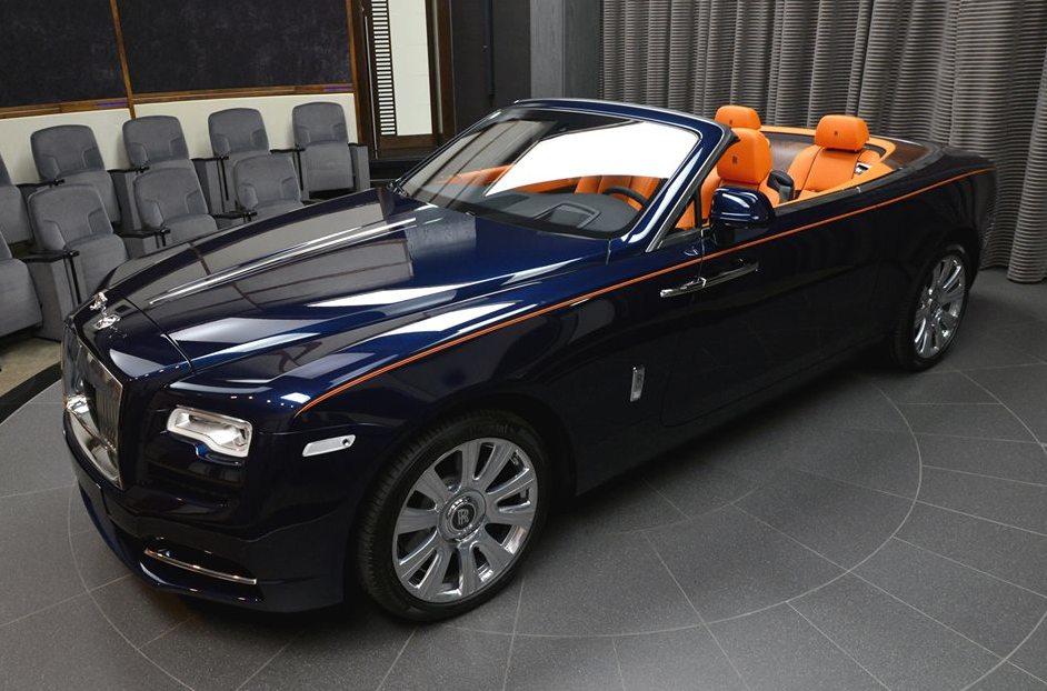 Gallery Bespoke Rolls Royce Dawn For Abu Dhabi