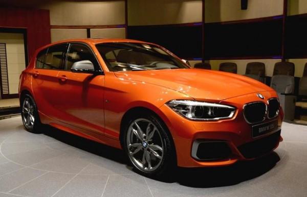 Valencia Orange BMW M135i-0