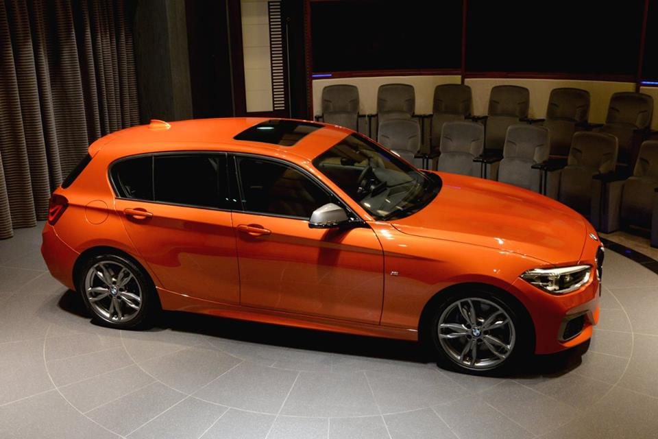 Gallery Valencia Orange Bmw M135i