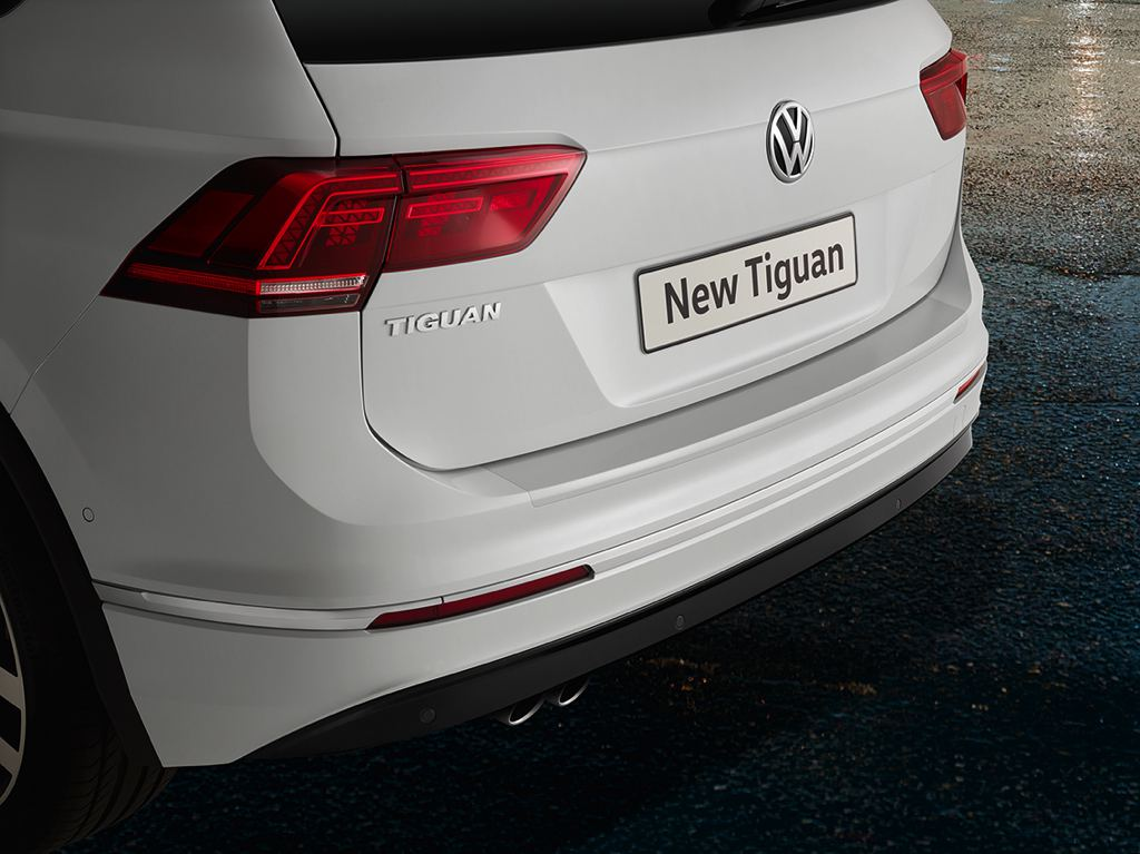 Uk Spec Volkswagen Tiguan Gets Accessorized