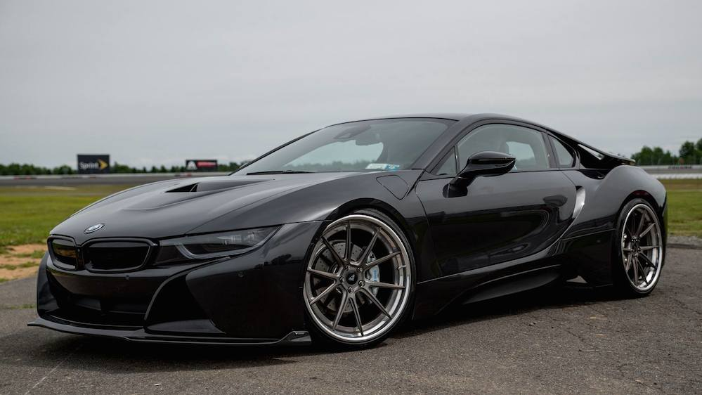 tuningcars vorsteiner bmw i8 in black looks effortlessly cool. Black Bedroom Furniture Sets. Home Design Ideas