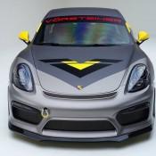 """Vorsteiner Porsche Cayman GT4 3 175x175 at Vorsteiner Porsche Cayman GT4 """"V CS Aero"""""""