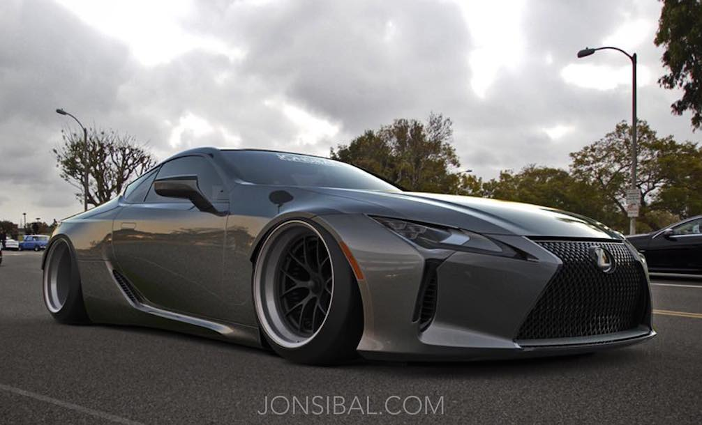 Virtual Tuning Lexus Lc 500 Wide Body