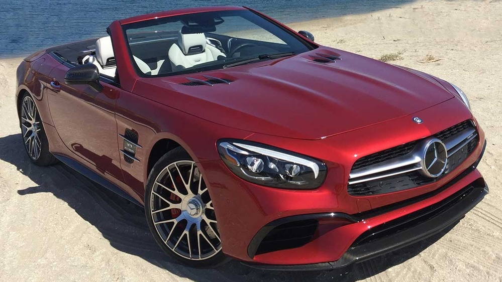 2017 Mercedes Sl63 Amg In Depth Review