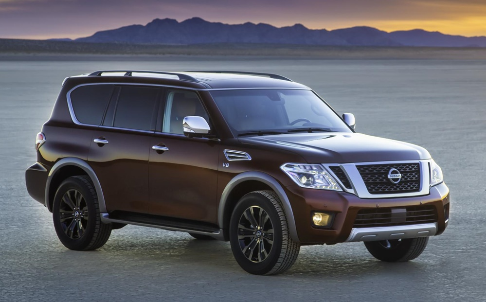 2017 nissan armada priced from 44 400. Black Bedroom Furniture Sets. Home Design Ideas