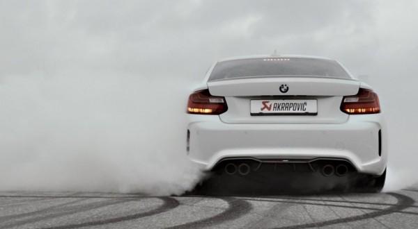 Akrapovic BMW M2 600x330 at Akrapovic BMW M2 Gets a Sick Promo