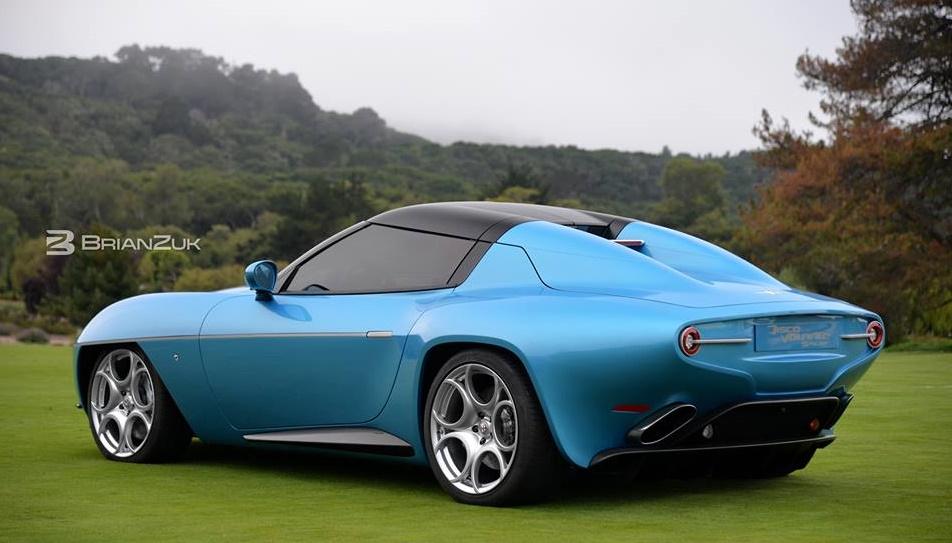 Alfa Romeo Disco Volante Spyder Wows Monterey