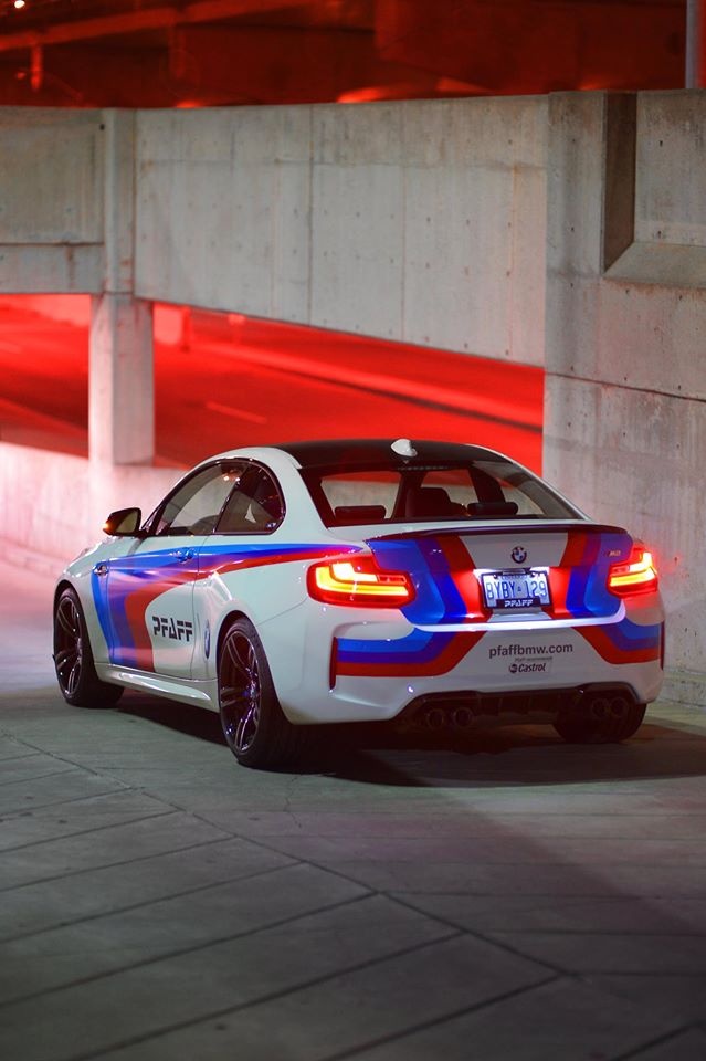 Bmw M2 Looks Serious With M Performance Livery