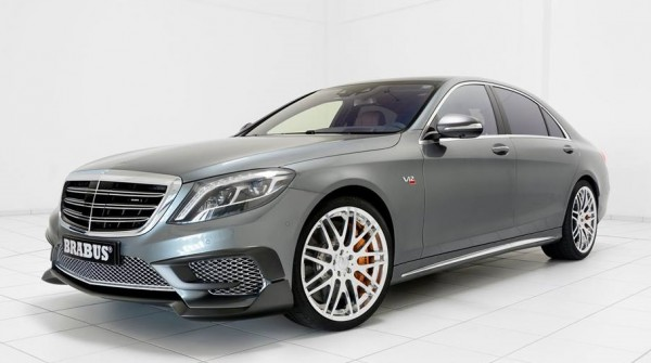 Brabus Rocket 900 Grey 0 600x335 at Brabus Rocket 900 Shows Up in Grey Metallic