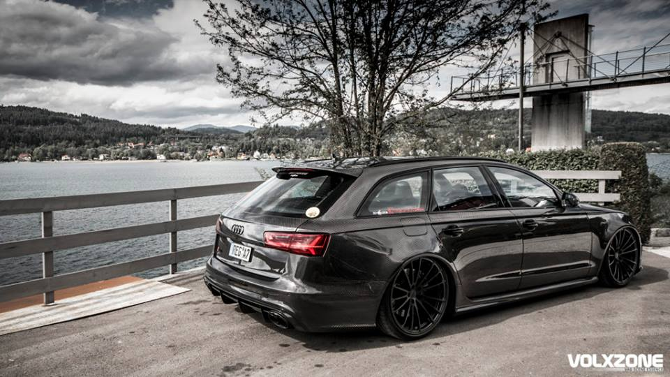 full carbon audi rs6 is one mad wagon. Black Bedroom Furniture Sets. Home Design Ideas