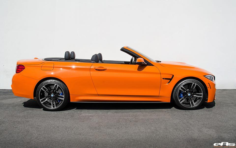 Fire Orange Bmw M4 Convertible By Eas