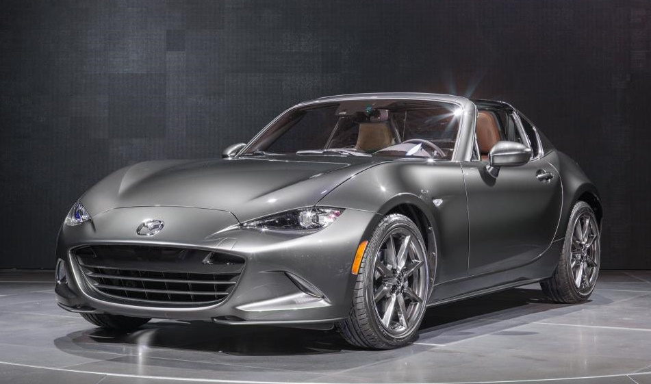 mazda mx 5 rf launch edition announced. Black Bedroom Furniture Sets. Home Design Ideas