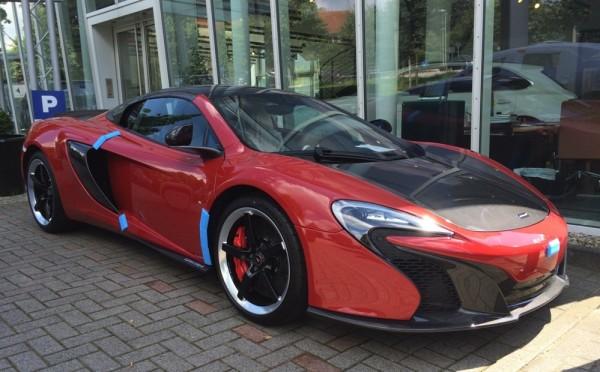 McLaren 650S Can-Am Spotted at Hamburg Dealership - Blogs - Bloglikes