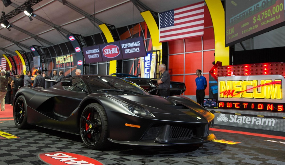 Mecum Auctions Sells $50 Million Worth of Cars at Monterey