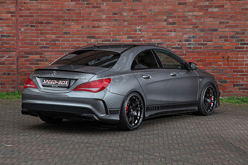 Mercedes Cla 45 Amg With Gambit Wheels