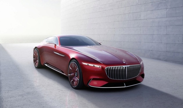 first look mercedes maybach vision 6
